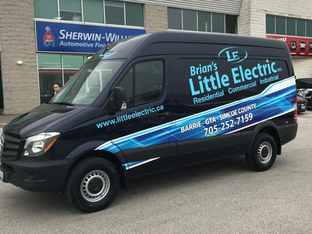 Brian's Little Electric Van